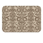 WELLNESSMATS Couture Mat Cover 3 X 2 - ALMOND MOCHA 32SC105A
