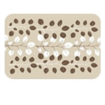 WELLNESSMATS 32SC117A SWEETBAY Mat Cover 3 X 2 - ALMOND MOCHA