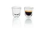 Delonghi Set of 2 Espresso Glasses, Delonghi Parts, Delonghi Coffee Machine Part, Delonghi Machine, Coffee Machine