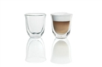 Delonghi Set of 2 Cappuccinno Glasses, Delonghi Parts, Delonghi Coffee Machine Part, Delonghi Machine, Coffee Machine