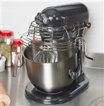 Kitchenaid 8 Qt Commercial Stand Mixer with Guard Dark Pewter KSMC895DP