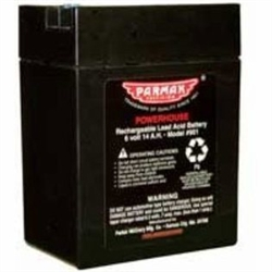 Baygard Parker McCrory 6 Volt Gel Cell Battery for Solar Powered Fencers 901