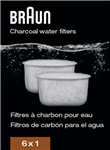 Braun Charcoal Water Filter BRSC004