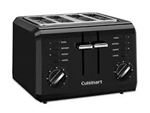 Cuisinart 4-Slice Compact Toaster CPT-142BKC