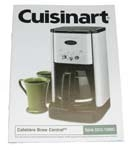 Bilingual Instruction Booklet IB-3798 Cuisinart
