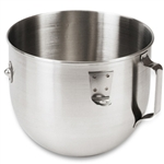 KitchenAid 5 qt Stainless Steel Bowl With Handle