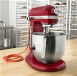 KitchenAid 8 Qt Commercial Stand Mixer KSMC895ER Empire Red