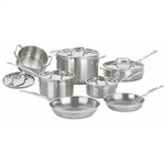 Cuisinart12-Piece Multiclad Pro Cookware Set MCP-12NCC