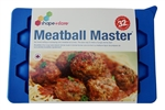Shape+Store Makes 32 even -sized meatball
