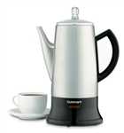 Cuisinart Classic Cordless Percolator 4 to 12-Cup Brushed Stainless Steel PER-12BCC