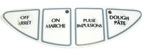 Cuisinart Panel Label White RPWAYS19056