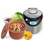 VitaClay 8 Cup Organic Multi-Cooker Plus Yogurt Maker VM7900-8