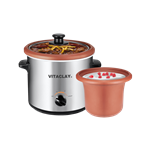 VitaClay 2 in 1 Organic Slow Cooker and Yogurt Maker