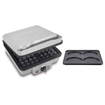 Cuisinart Belgian Waffle Maker with Pancake Plate WAF-350C